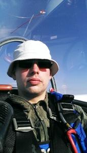 Der Pilot.