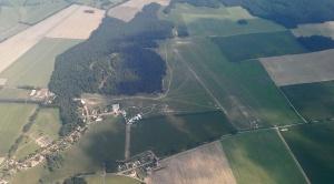 Der Fliegerpark in Stölln.