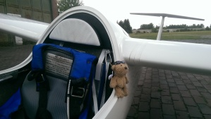 Mein Co-Pilot ist immer dabei.