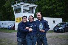 Simon, Nicki und Henning vom LSC Erftland.