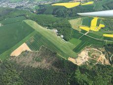 Die Heide aus der Luft.