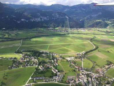 Der Flugplatz Aigen.