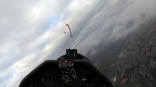Air Race zwischen den Wolken.