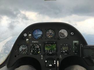 Im Cockpit der BT.
