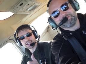 Cessna-Fahren mit dem besten Kollegen der Welt.