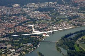 Cobra 15 über Speyer.