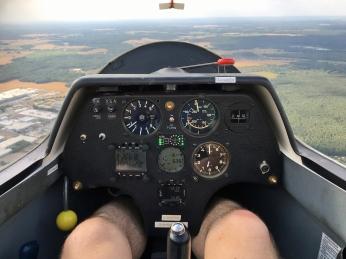 Cockpit ASK23.