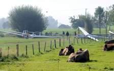 So siehts am Flugplatz Agathazell aus. Foto: Martin
